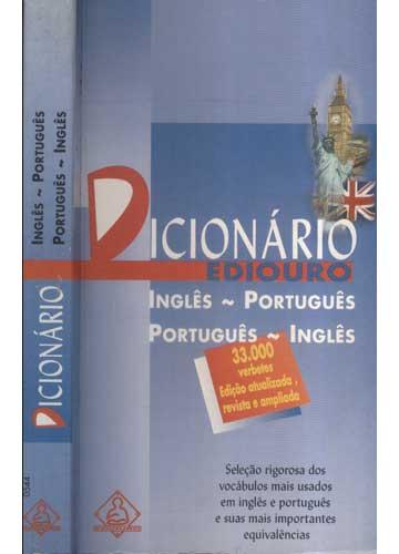 Dicionário Ediouro - Inglês-Português / Português-Inglês