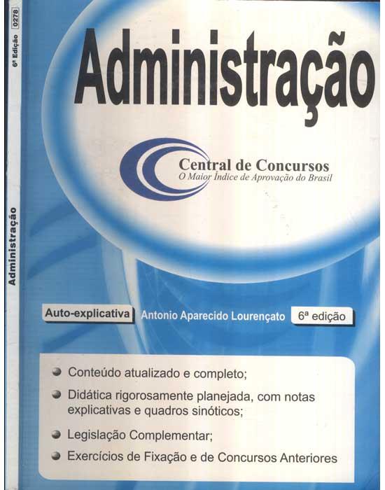 Administração - Central de Concursos