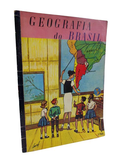 Geografia do Brasil - Álbum de Figurinhas Completo - 1ª parte
