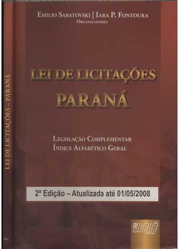 Lei de Licitações Paraná