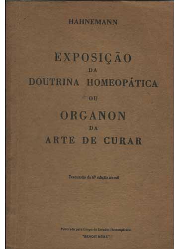 Exposição da Doutrina Homeopática ou Organon da Arte de Curar