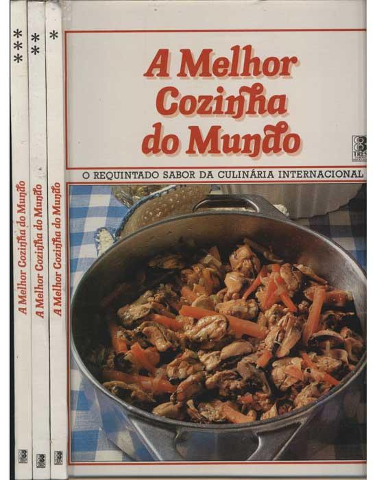 A Melhor Cozinha do Mundo - 3 Volumes