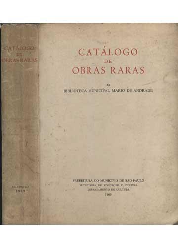 Catálogo de Obras Raras