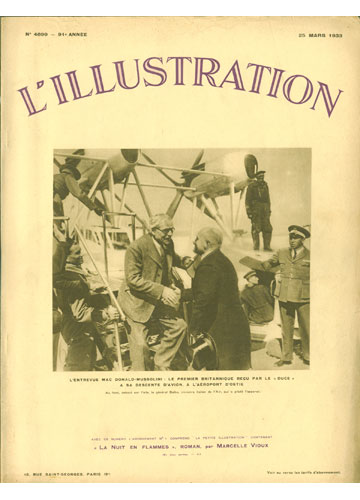 L'Illustration - 1933 - Nº.4699