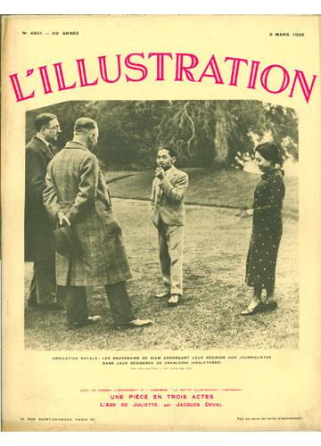 L'Illustration - 1935 - Nº.4801
