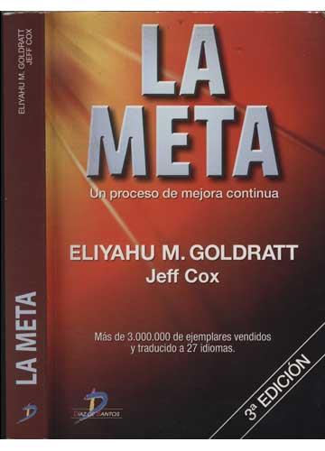 Livro - La Meta - Sebo do Messias