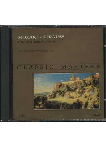 Classic Masters - Mozart - Strauss - Obras Para Quinteto de Metais
