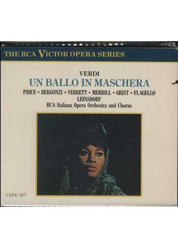 Verdi - Un Ballo in Maschera *box duplo importado*