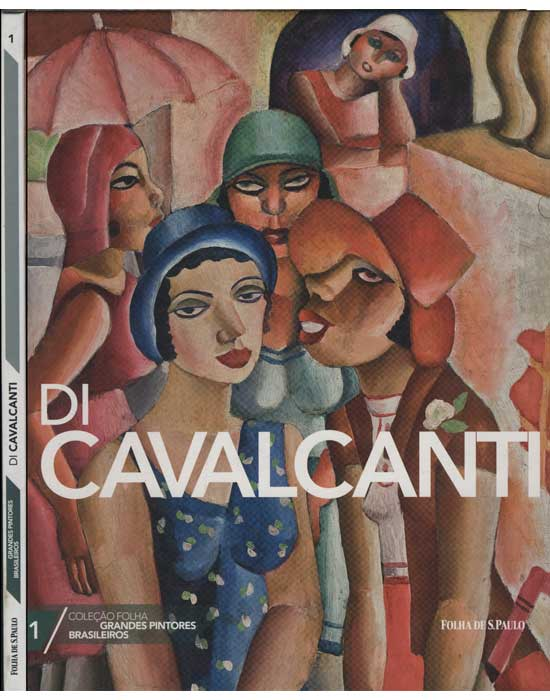 Di Cavalcanti - Coleção Folha Grandes Pintores Brasileiros - Volume 1