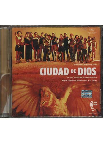 Ciudad De Dios - Trilha Sonora Original do Filme *Importado Made in Argentina*