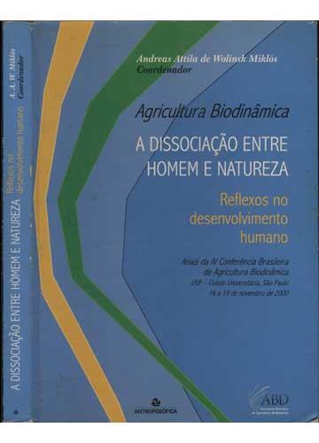 A Dissociação Entre Homem e natureza - Reflexos No Desenvolvimento Humano