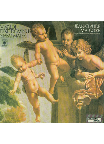 Vivaldi - Dixit Dominus Stabat Mater - Jean-Claude Malgoire / English Bach Festival Orchestra and Choir
