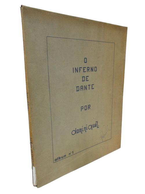 O Inferno de Dante - Álbum Nº.1 - Livro em formato de pranchas - com 31 pranchas soltas