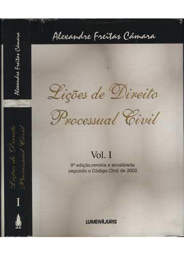 Lições de Direito Processual Civil - Volume I