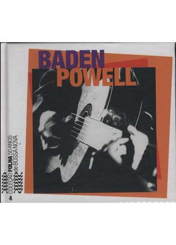 Coleção Folha 50 Anos de Bossa Nova - Nº.4 - Baden Powell *CD+Livro*