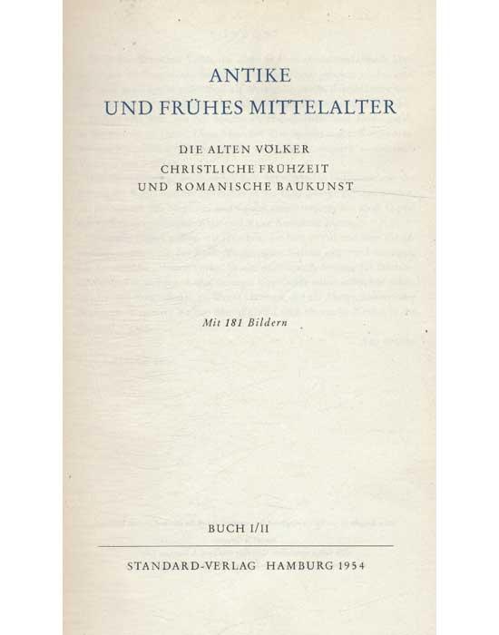 Geschichte der Kunst - 6 Volumes