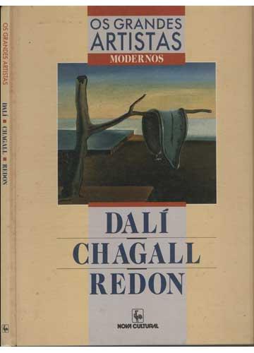 Os Grandes Artistas - Dalí / Chagall / Redon