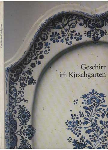 Gerschirr im Kirschgarten