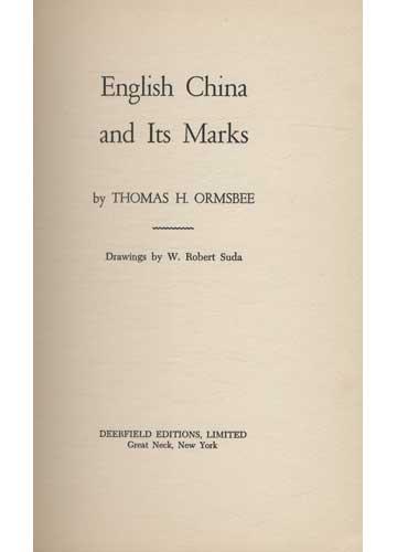 English China and Its Marks
