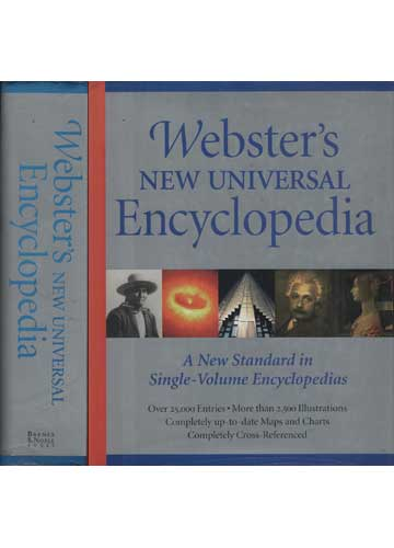 Webster's New Universal Encyclopedia
