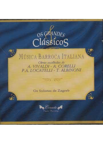 Música Barroca Italiana *importado*