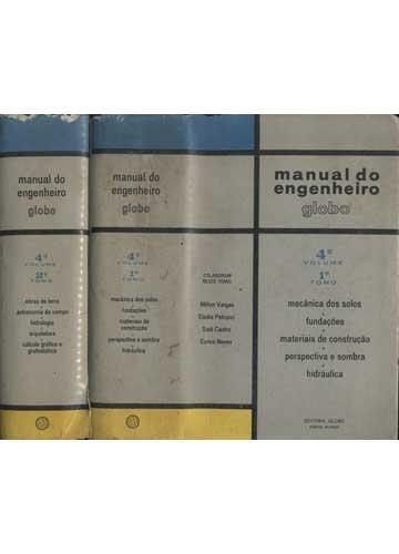 Manual do Engenheiro Globo - 2 Volumes