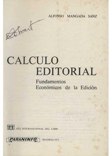 Calculo Editorial