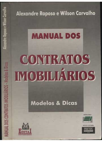 Manual dos Contratos Imobiliários