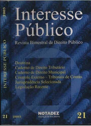Interesse Público - N°.21