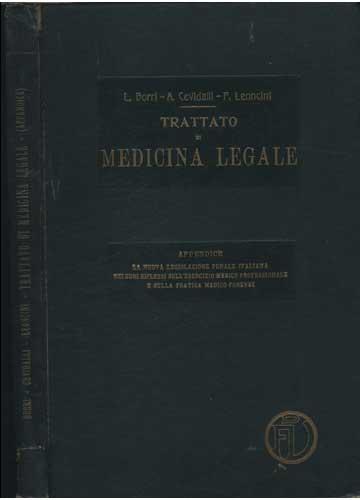 Trattato di Medicina Legale