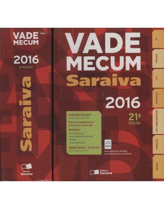 Vade Mecum Saraiva 2016
