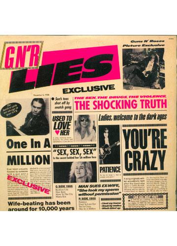 Guns N' Roses - G N' R Lies - Com Encarte