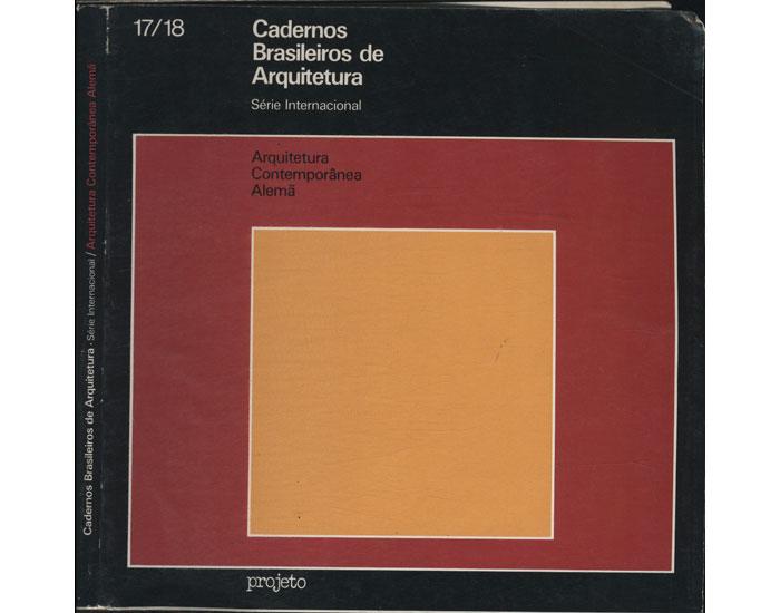 Cadernos Brasileiros de Arquitetura - Nº 17/18