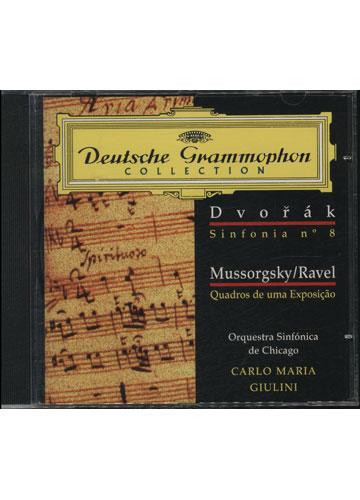 Dvorak - Sinfonia No.8 / Mussorgsky / Ravel - Quadros de uma Exposição  (DGC 011)