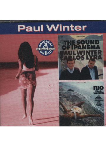 Paul Winter with Carlos Lyra - The Sound of Ipanema / Paul Winter - Rio *raro importado* *2 álbuns em 1 disco*