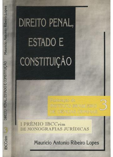 Direito Penal Estado e Constituição