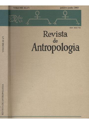 Revista de Antropologia - Volume 46 - Nº1