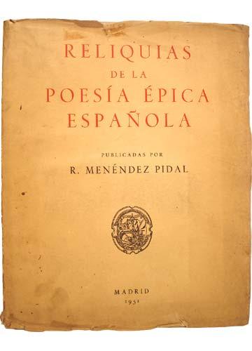 Reliquias de la Poesía Épica Española