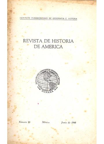 Revista de Historia de America - Nº 25