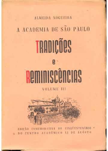 Tradições e Reminiscências - Volume III