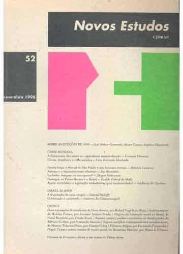 Novos Estudos - N°.52 - Novembro