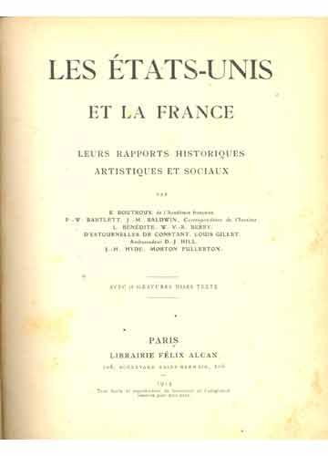 Les États-Unis et La France