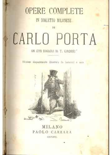 Opere Complete di Carlo Porta