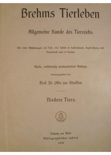Brehms Tierleben - 13 Volumes