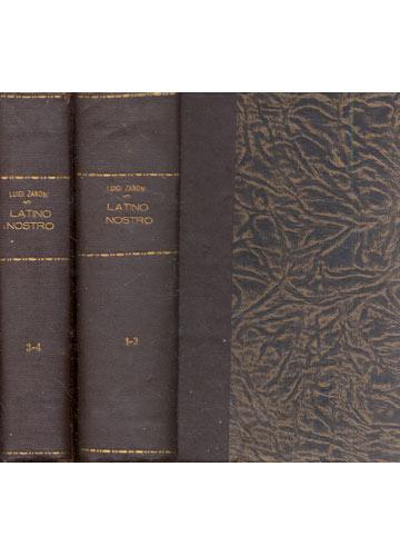 Latino Nostro - 4 Volumes em 2 Tomos