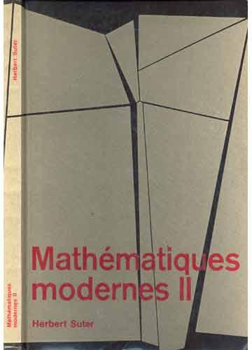 Mathématiques Modernes II