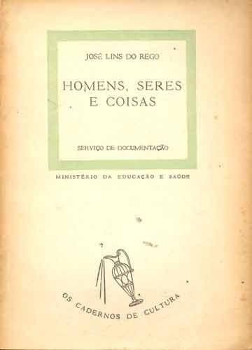 Livro - Homens Seres e Coisas - Sebo do Messias
