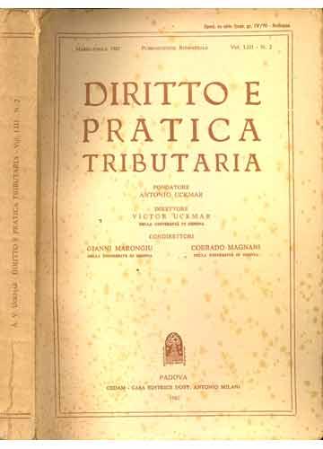 Diritto e Pratica Tributaria - Volume LIII - Nº.2