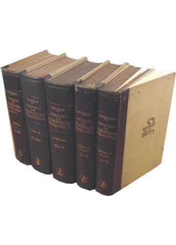 Tratado de Farmacia Práctica - 5 Volumes