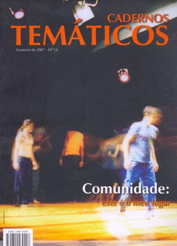 Cadernos Temáticos - Ano 2007 - N°.14